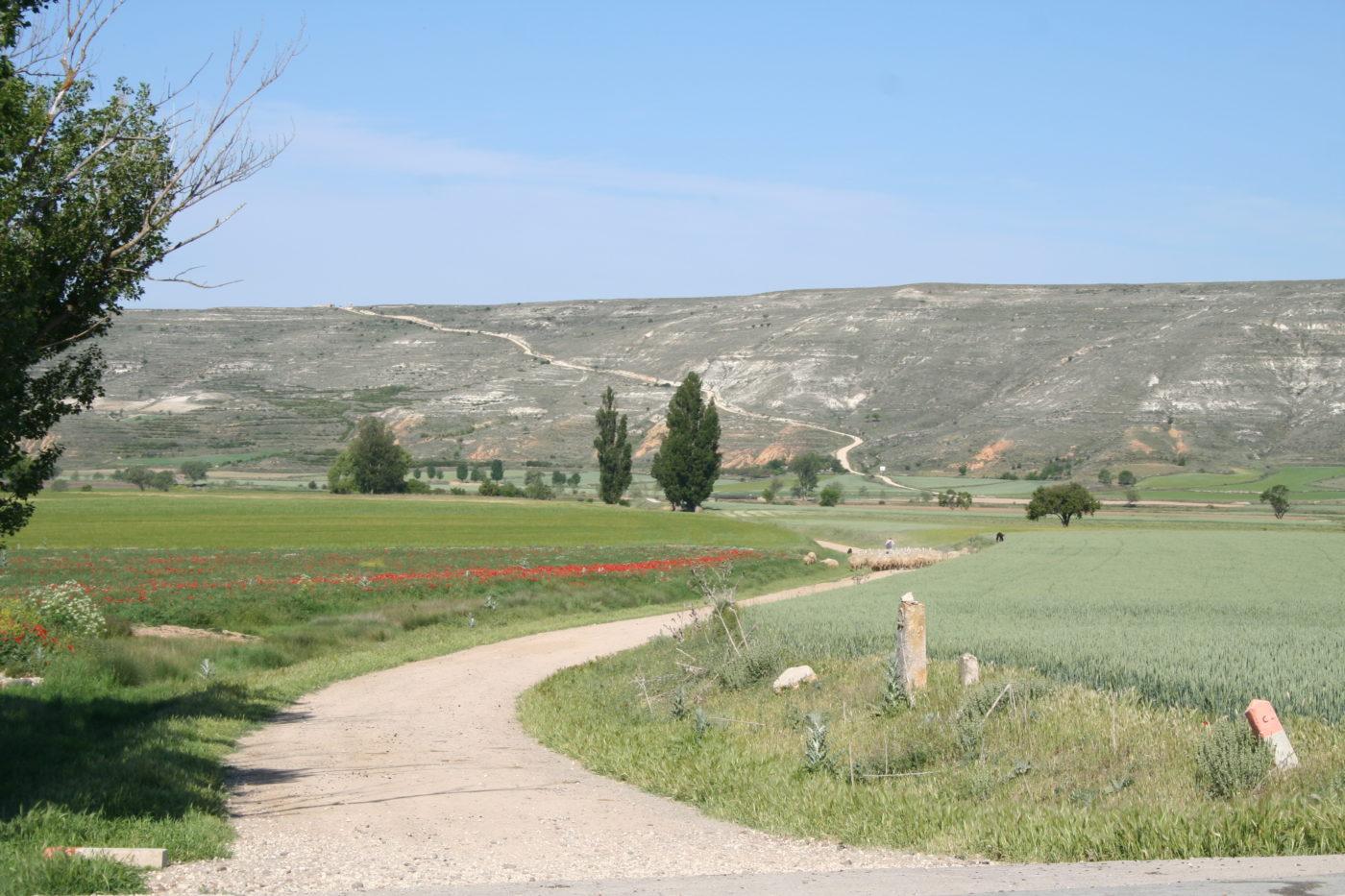 Valley of Castrojerez, Camino de Santiago