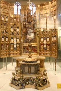 Monstrance from Cathedral of St. Mary in Burgos, Spain
