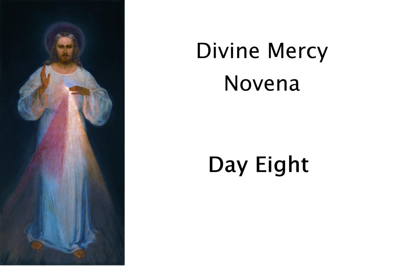 Divine Mercy Day 8