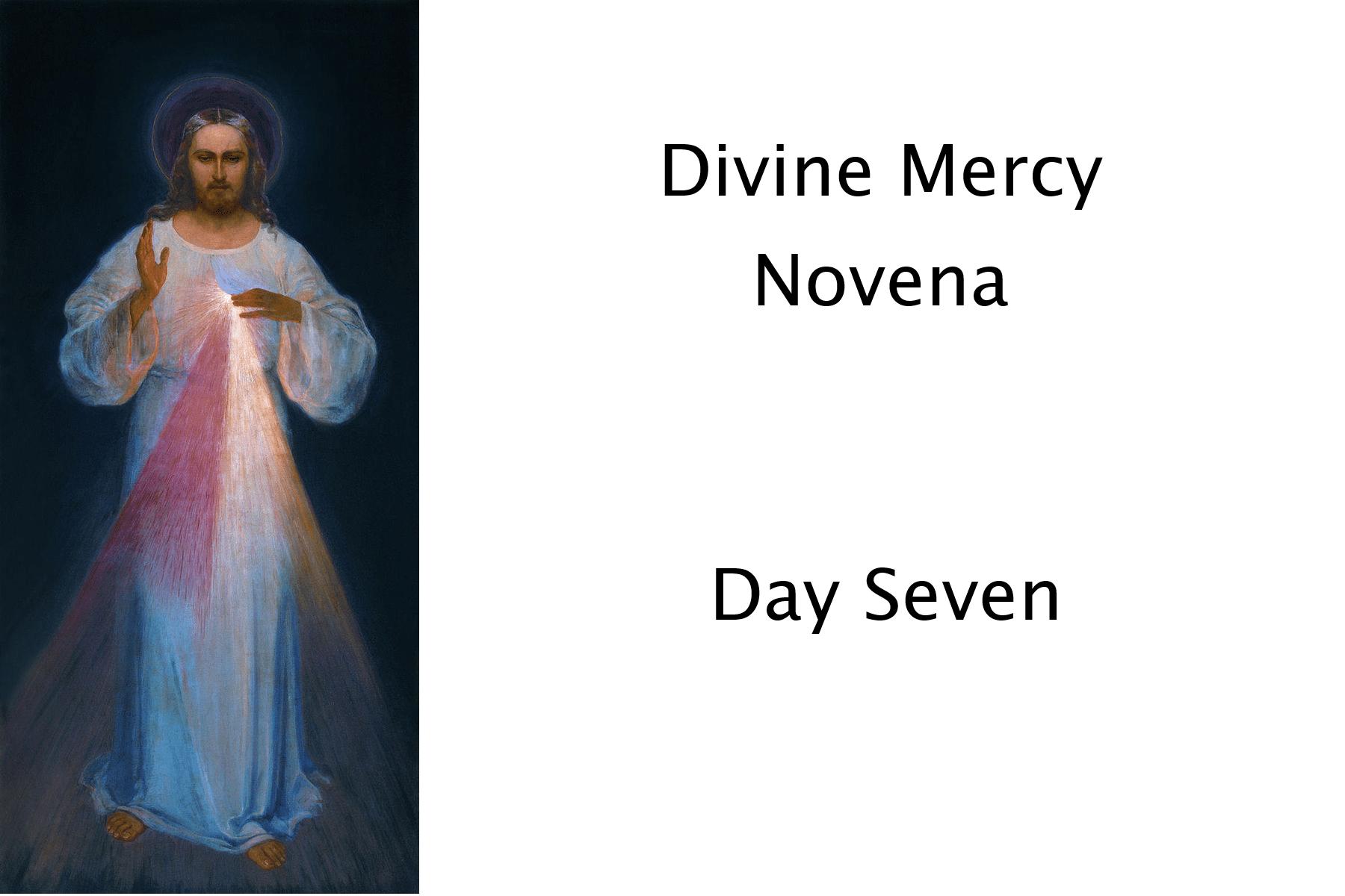 Divine Mercy Day Seven