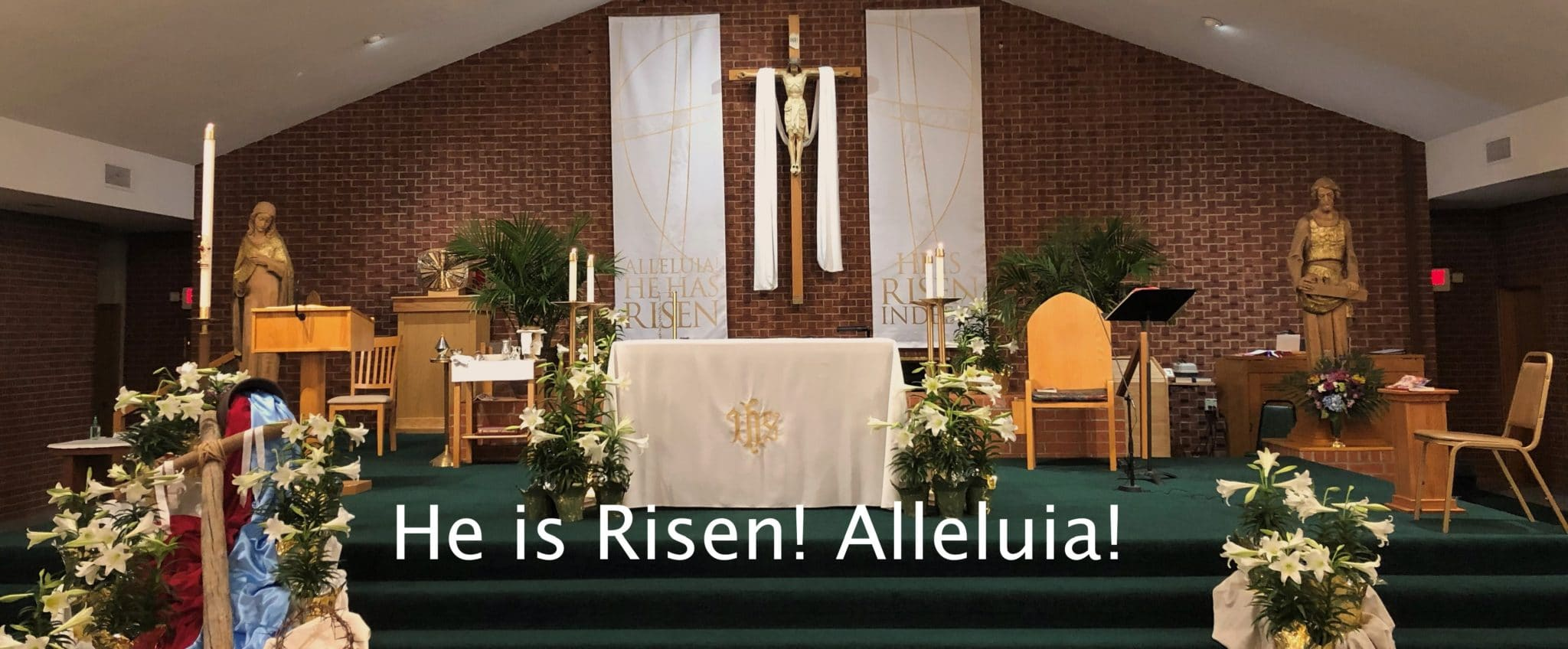 He is Risen, Church Sanctuary