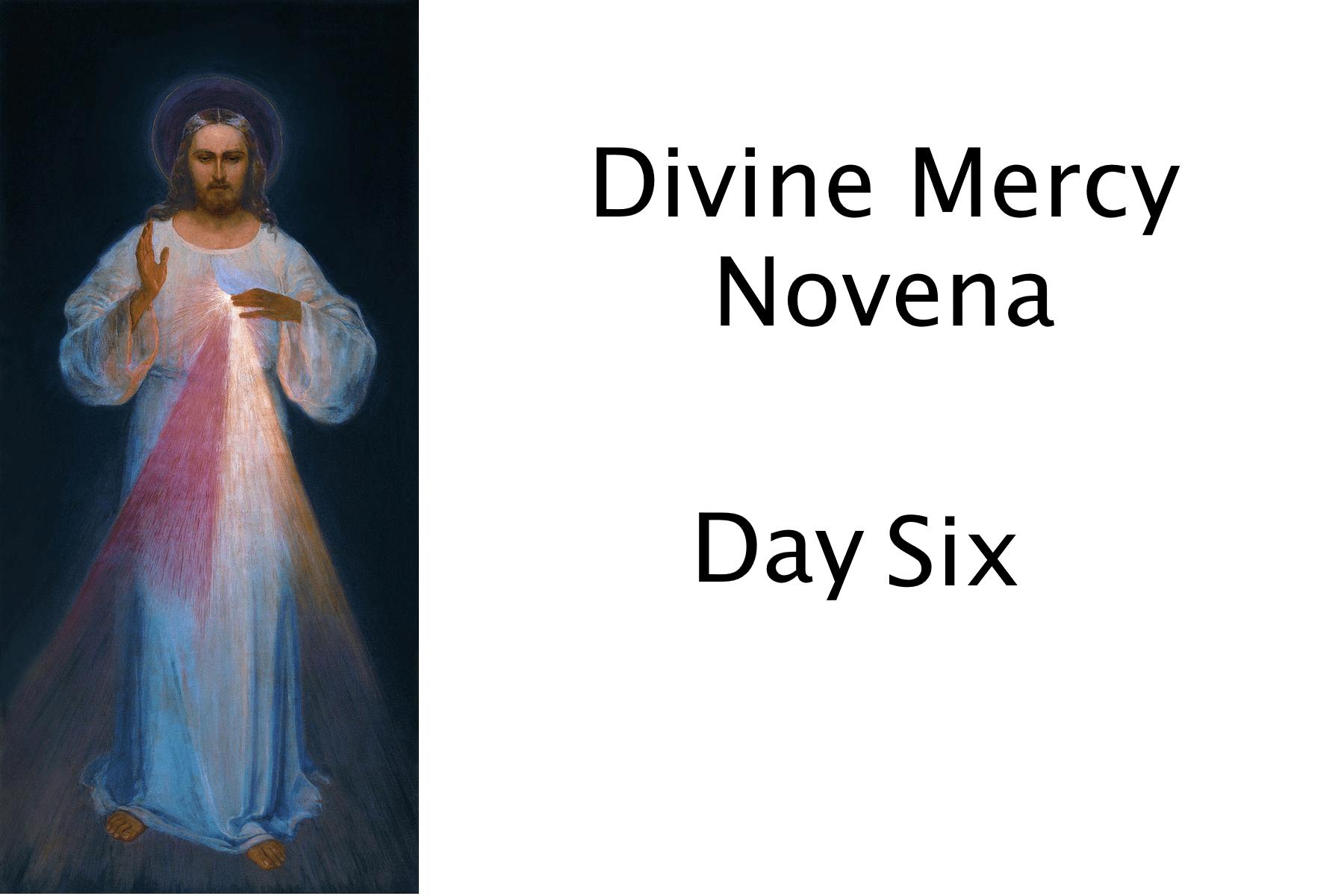 Divine Mercy Day 6