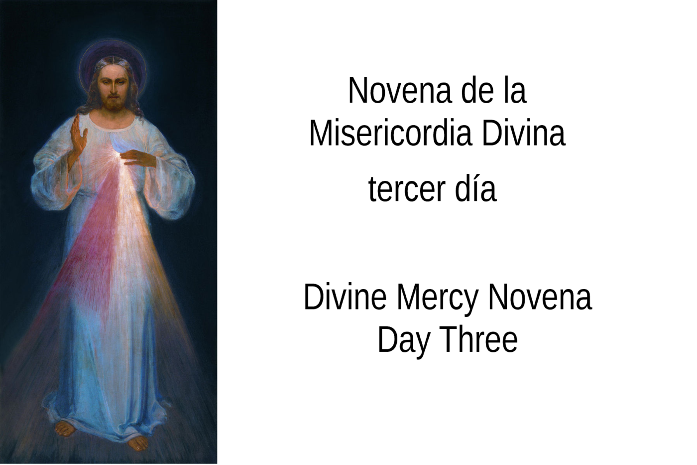 Divine Mercy Day Three