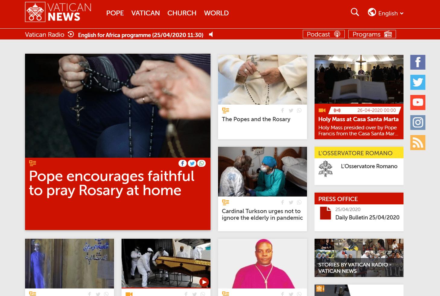 Vatican News Portal