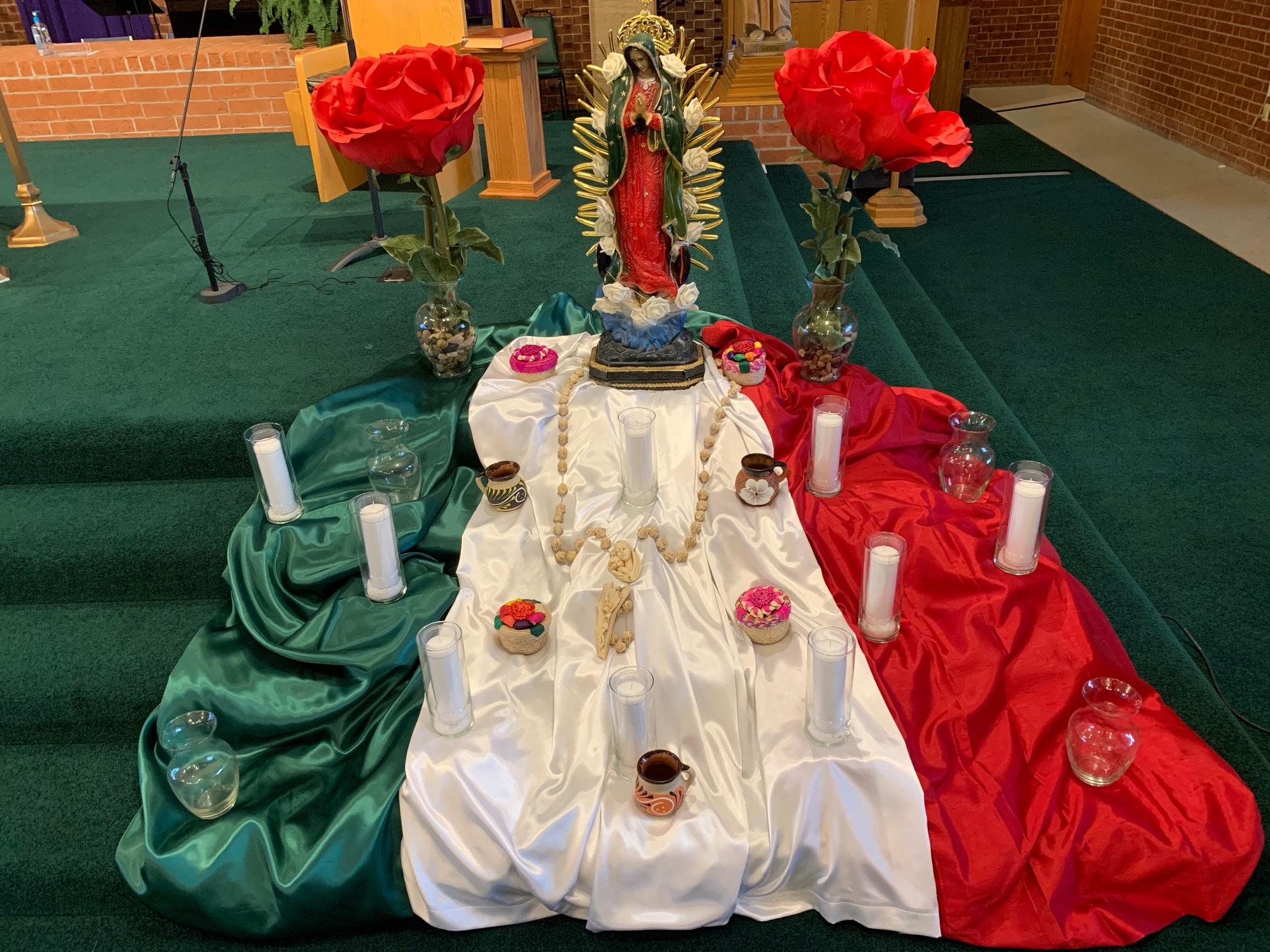 nuestra Señora la Virgen de Guadalupe