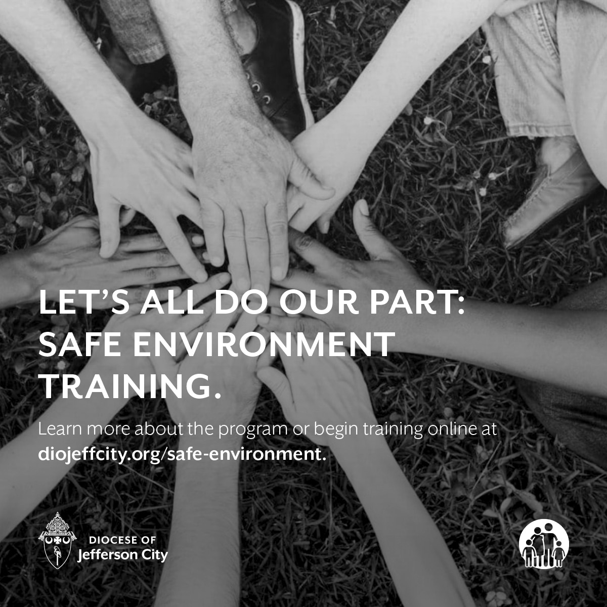 Let's do our part: Safe Environment Training