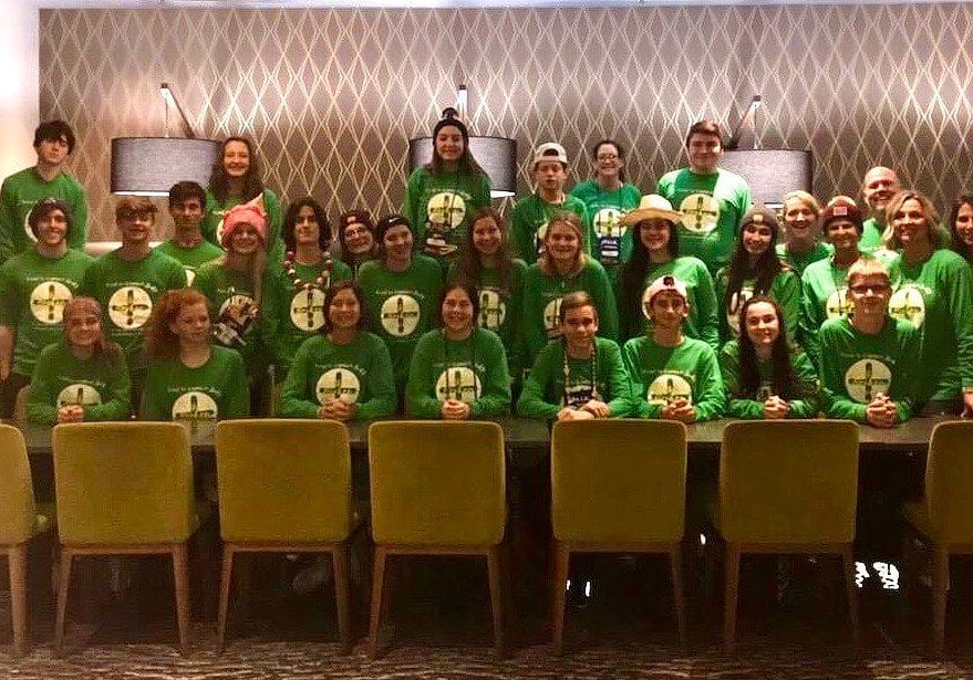 NCYC Green Shirts
