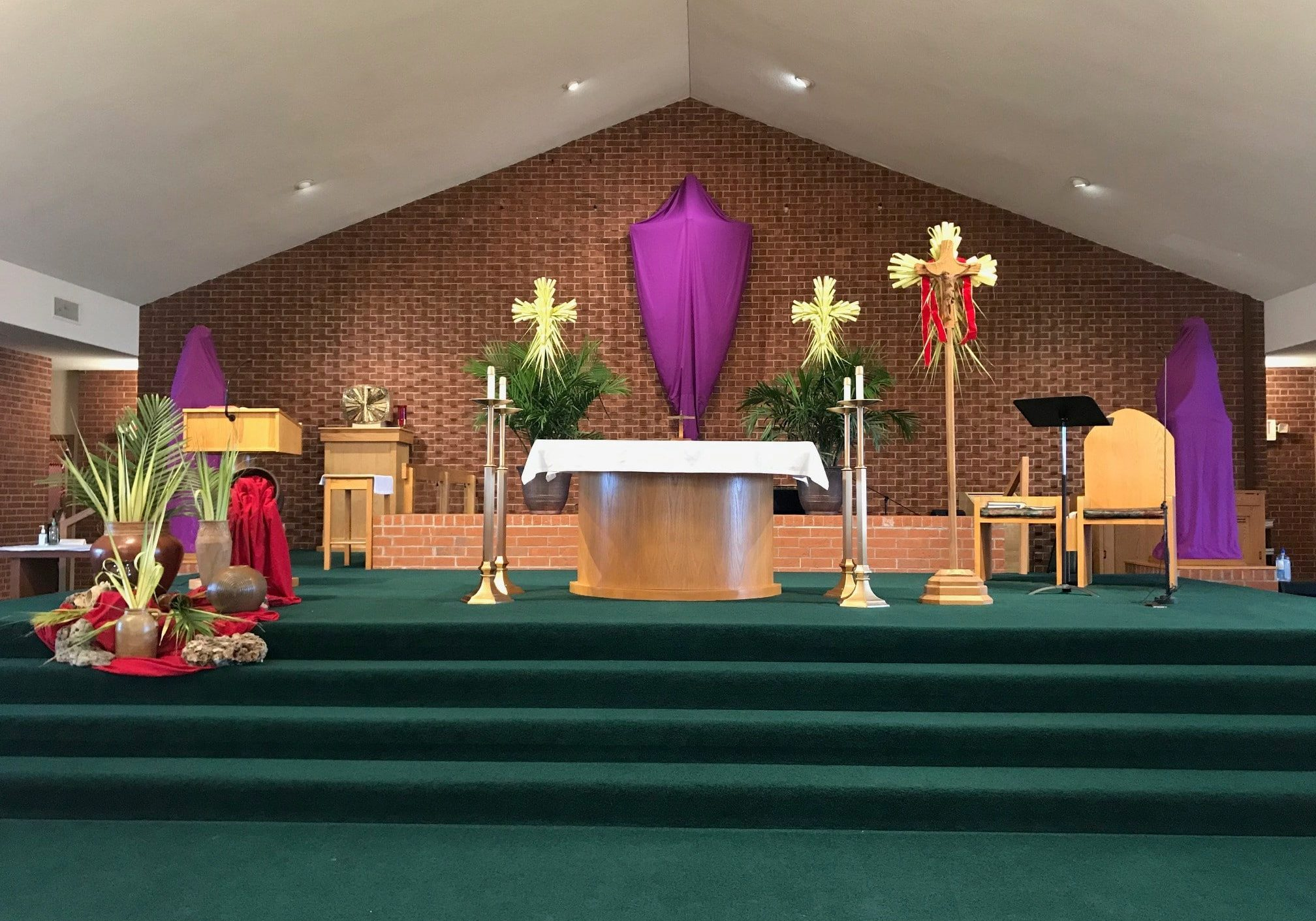 Palm Sunday Sanctuary of Our Lady of the Lake